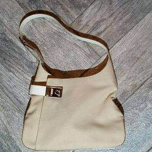 Vintage Ferragamo cotton bag